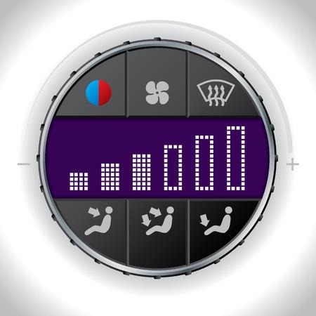 recirculate: Cool in car multifunctional clima control unit
