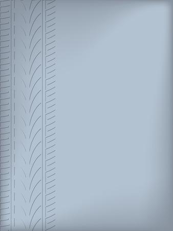 pisar: Diseño abstracto de fondo con la silueta del dibujo del neumático