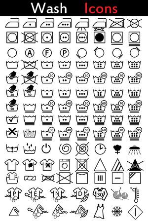 lavamanos: Icono de Instrucción que se lava conjunto de 110 Vectores