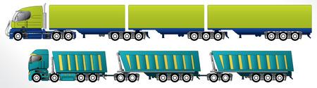 dangerous goods: B triple road train trailer setups for cargo hauling