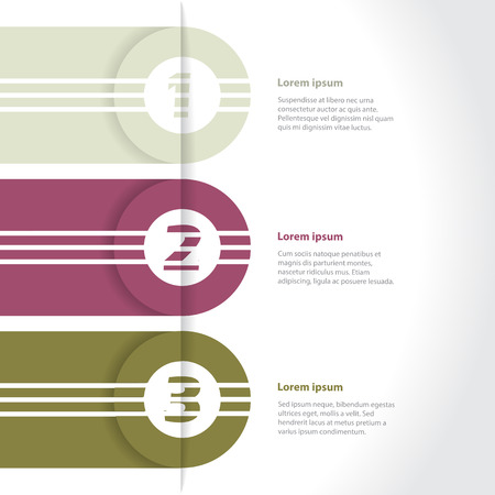 modern wallpaper: Cool new infographic design set with gradation Illustration