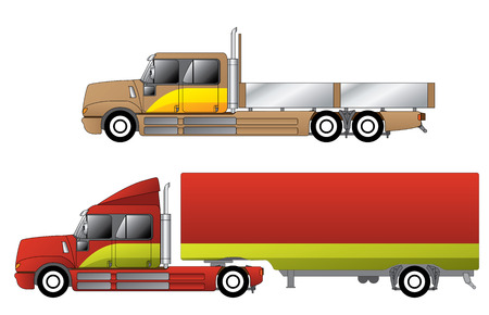 wheeler: Convetional trucks with double cab and various chassis configurations