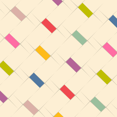 modern design: Abstract pattern background design with color elements Illustration