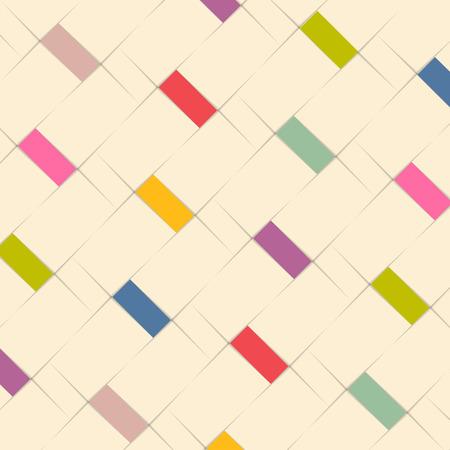arte moderno: Diseño abstracto del modelo de fondo con elementos de color