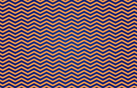 Pattern ZIGZAG in Blue and Yellow. Classic Zigzag pattern in blue and yellow color background