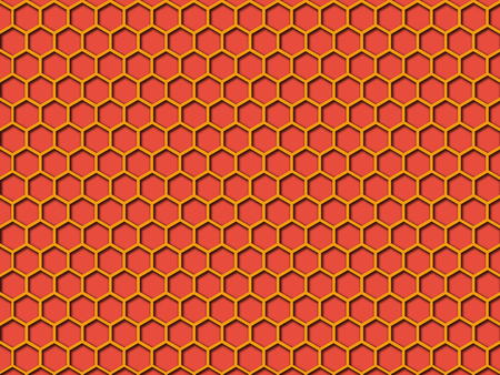 Light red color Honeycomb Pattern Background. This is Light red color honeycomb abstract pattern illustration  background. that you can use for background and make application for android and ios.