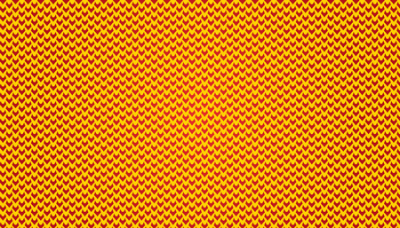 Micro Pattern V simple Pattern Background illustration in yellow and red color.  This is a micro pattern of V shape. It is like a Illustration Vector base image. You can use it for as background image. use it application background image. it is illustrati