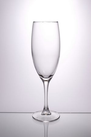 isoliert: isolated wine glass, backlight image, simple and clean Stock Photo
