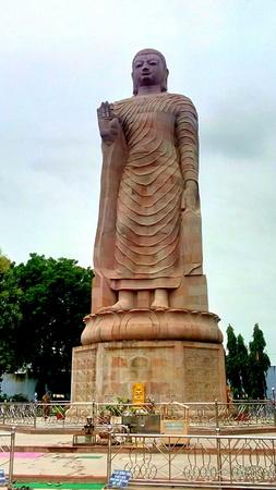 Statue of Buddha at Sarnath in Varanasi