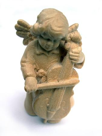 Angel with violin photo