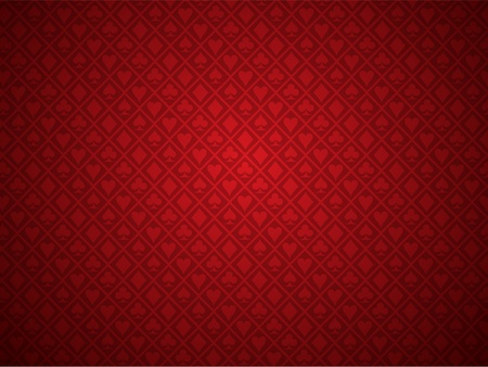 Red Poker Background