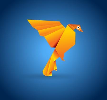 freedom couple: Origami