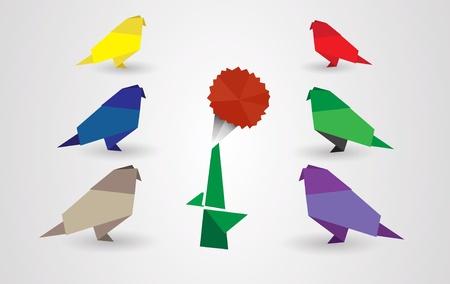 Origami Vector