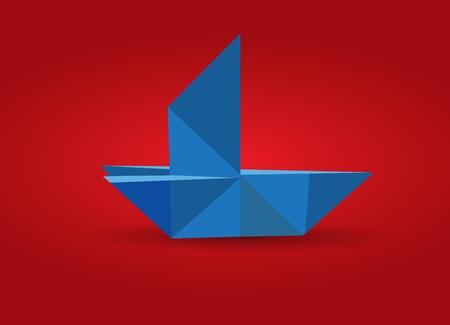 Origami Boar Vector