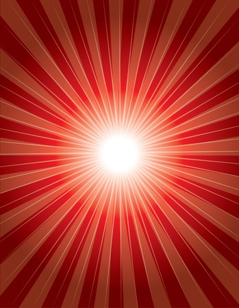 shinning: red colorful background with shinning ray