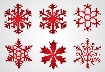 snow flake: Christmas snowflake