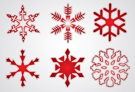 snow flakes: Kerst sneeuwvlok