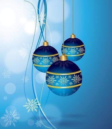 Christmas Hanging Balls Vector