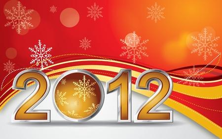 Christmas 2012 Ball Vector