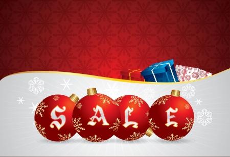 Vector Christmas Sale Poster Stock Vector - 11101385