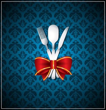 Vector restaurant menu cover Vector