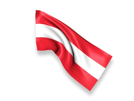 Austria Waving Flag photo