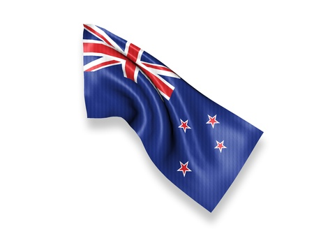 New Zealand Waving Flag photo