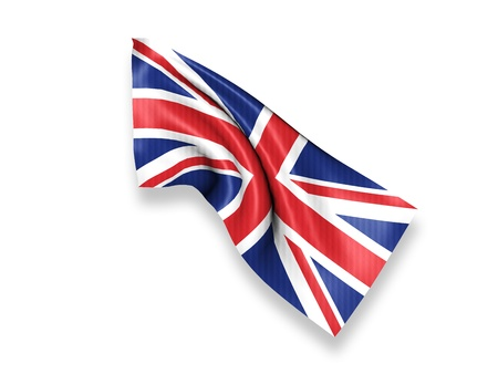 United Kingdom Waving Flag photo