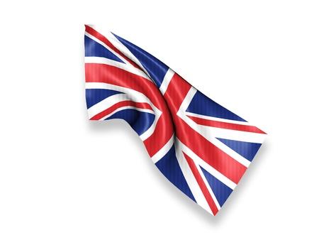 symbol british: United Kingdom Waving Flag