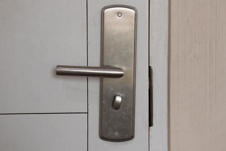 Tür und Schloss.