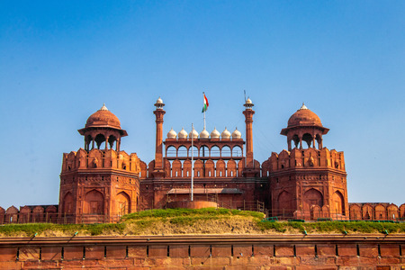 Red Fort (Lal Qila) in Delhi, India