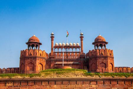 Rotes Fort (Lal Qila) in Delhi, Indien