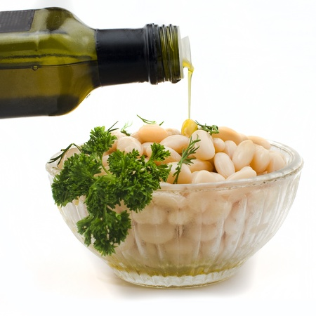 bens: Bens salad and olive oil