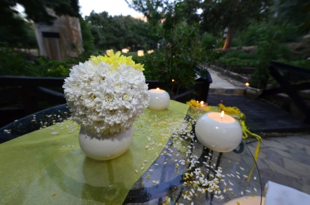 wedding designer, Composizione floreale