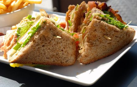 plato del buen comer: Sandwich