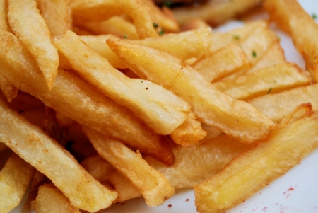 Close-up of french fries Stock Photo - 16436395