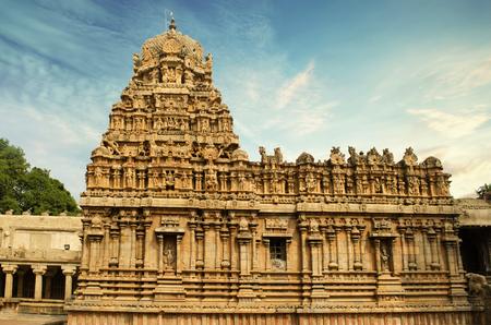 tanjore big temple Stock Photo