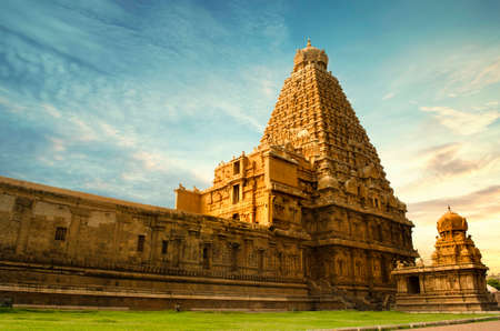 tanjore big temple 免版税图像