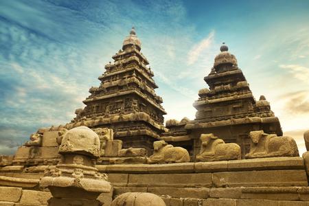 mahabalipuram temple Reklamní fotografie