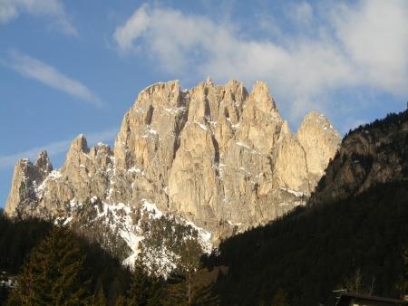 Mountains in Dolomites  photo