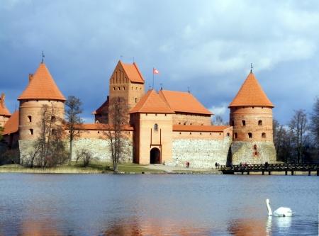 webfoot: Trakai castle in Lithuania