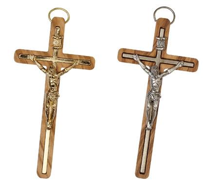Crucifix isolated