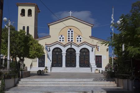 Church of St. John. Loutraki, Greece, June 2018