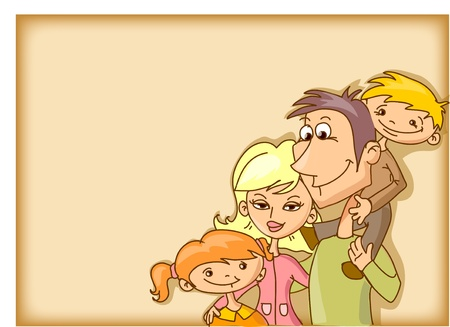 Family background  Vector
