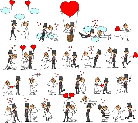 cartoon wedding: cartoon wedding pictures