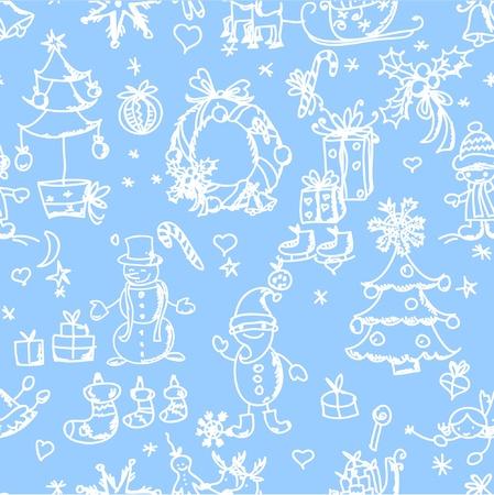 fairly: Christmas pattern seamless