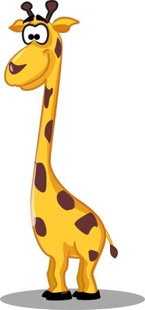 jirafa: Jirafa de dibujos animados