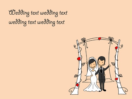 wedding pictures  Vector