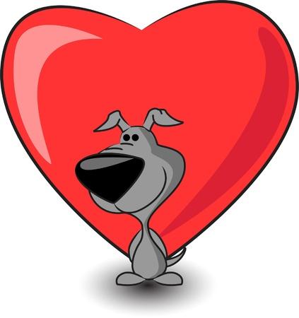 keeps: cute puppy keeps heart