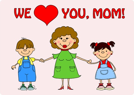 love mom: happy mothers day